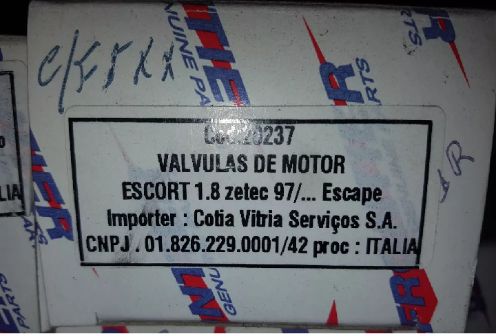 Valvular de Escape - 20237 - FRONTIER GENUINE PARTS - ESCORT 1.8 ZETEC 97...